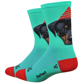 "DeFeet Aireator 6"" Fietssokken, party pupper"